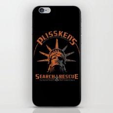 Snake Plissken's Search & Rescue Pty. Ltd. iPhone Skin