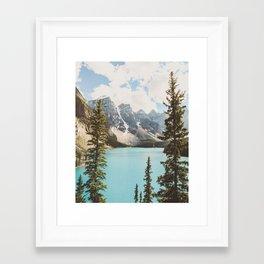 Moraine Lake II Banff National Park Framed Art Print
