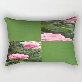 Pink Roses in Anzures 5  Blank Q5F0 Rectangular Pillow