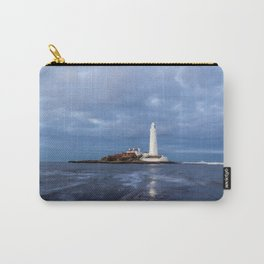 Dusk at St Mary's Lighthouse II Carry-All Pouch