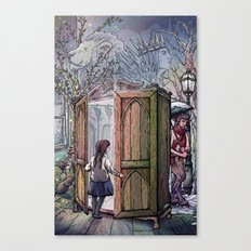 Lucy's Discovery Canvas Print