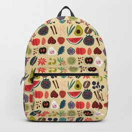 Fruit and Spice Rack Backpack
