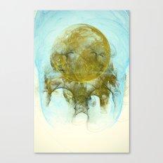 Sleepy Moon Nebula Canvas Print