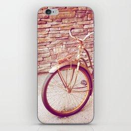 Rusty Spokes iPhone Skin