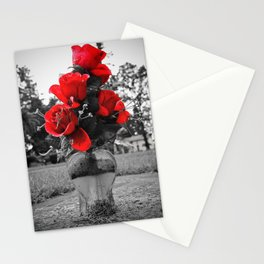 Red is permanence  Stationery Cards
