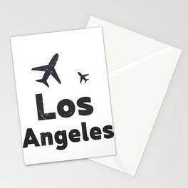Los Angeles minimal Stationery Cards