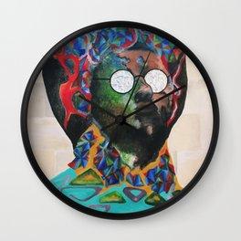 Papa Lit Wall Clock