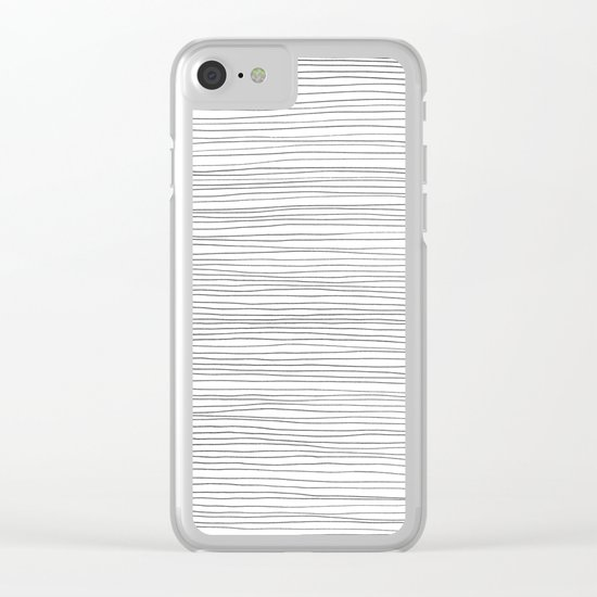 More Lines Clear iPhone Case