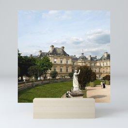 Luxembourg Gardens 13 Mini Art Print
