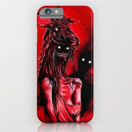 My perfect date iPhone Case