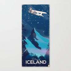 The magic of iceland Canvas Print