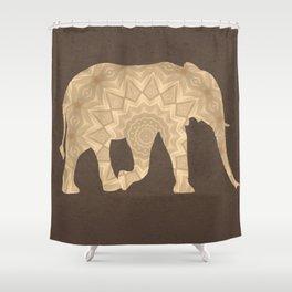 Bohemian Elephant BoHo Hipster Gypsy Mandala A395 Shower Curtain