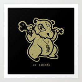 PokéRappers: Ice Cubone Art Print
