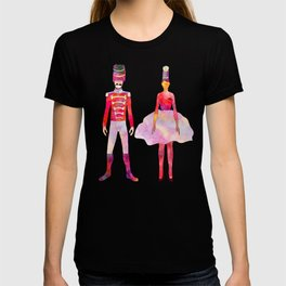 Nutcracker Ballet - Candy Cane Green T-shirt