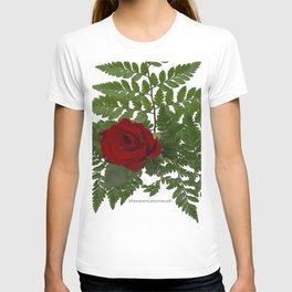 Rose in Winter T-shirt