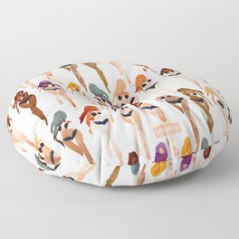ONE BIKINI, ONE WORLD Summer Babes Floor Pillow