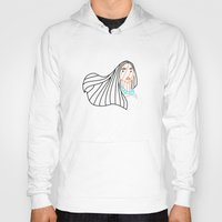 pocahontas Hoodies featuring Pocahontas - Disney by DanielBergerDesign