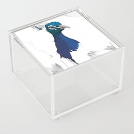 Peacock Head Acrylic Box