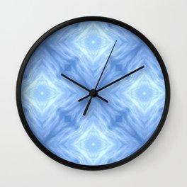 Silver Lining Cloud Wall Clock