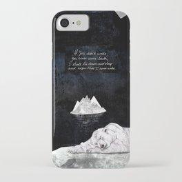 Sleeping Polar Bear iPhone Case