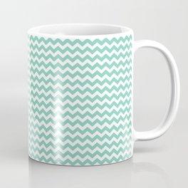 Chevron Mint Coffee Mug