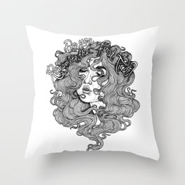 Do You Remember the First Time? Throw Pillow