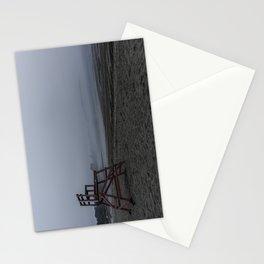 Niles Beach Foggy Evening Stationery Cards