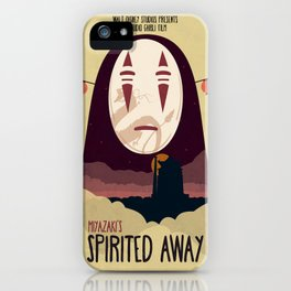 No Face Alternate Cover iPhone Case