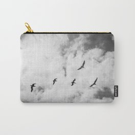 """""""Bird Silhouettes"""" Holga double exposure Carry-All Pouch"""