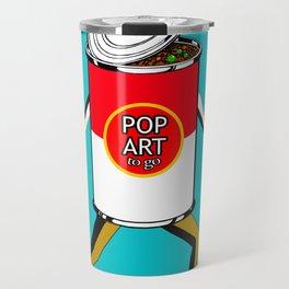 Pop Art to Go Travel Mug