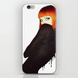 The Girl 5 iPhone Skin