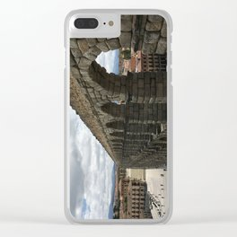 Segovia, Spain Clear iPhone Case