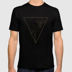 All lines lead to the...Springbok MEDIUM Mens Fitted Tee Black