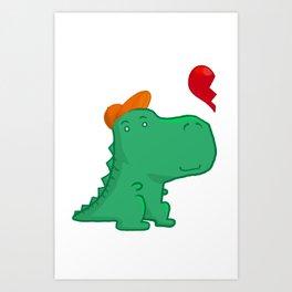 Dinoboy Art Print