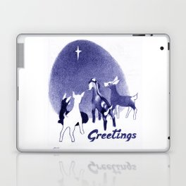Christmas in the Stable Laptop & iPad Skin