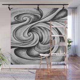 Swirl (Gray) Wall Mural
