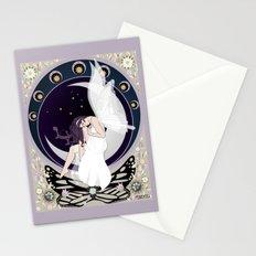 Art nouveau fairy Stationery Cards