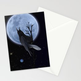 Raven Speak Stationery Cards