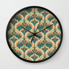 A Deco Garden Wall Clock