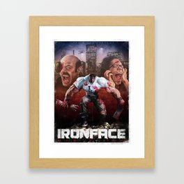 Iron Face: His Style Framed Art Print