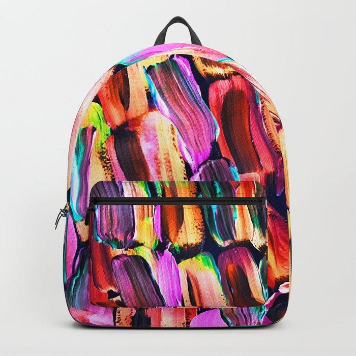 Neon Sugarcane Dark Backpack