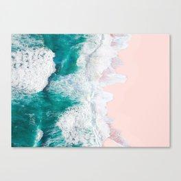 Pink Sand Beach Canvas Print