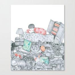 Garder Canvas Print