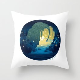 Interior Landscapes III Throw Pillow
