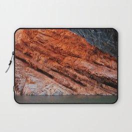Orange rock - Greg Katz Laptop Sleeve