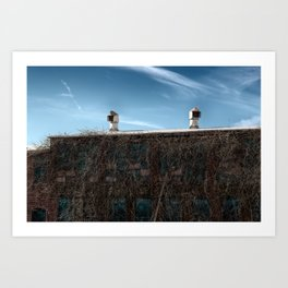 Industrial Grunge 7 Art Print