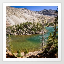 Lake Agnes Colorado Art Print