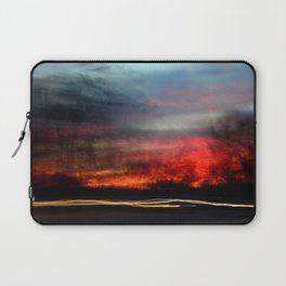 Night Lights Moving Sunset 2 Laptop Sleeve