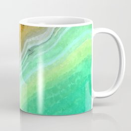 Druze green agate Coffee Mug