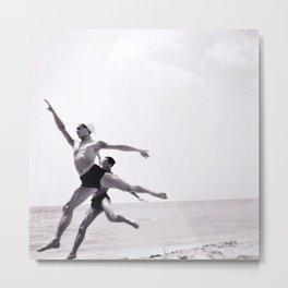Ballet Monte-Carlo Beach Metal Print